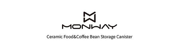 coffee food storage canister jar