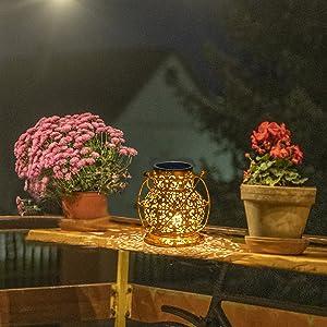 outdoor lanterns solar powered