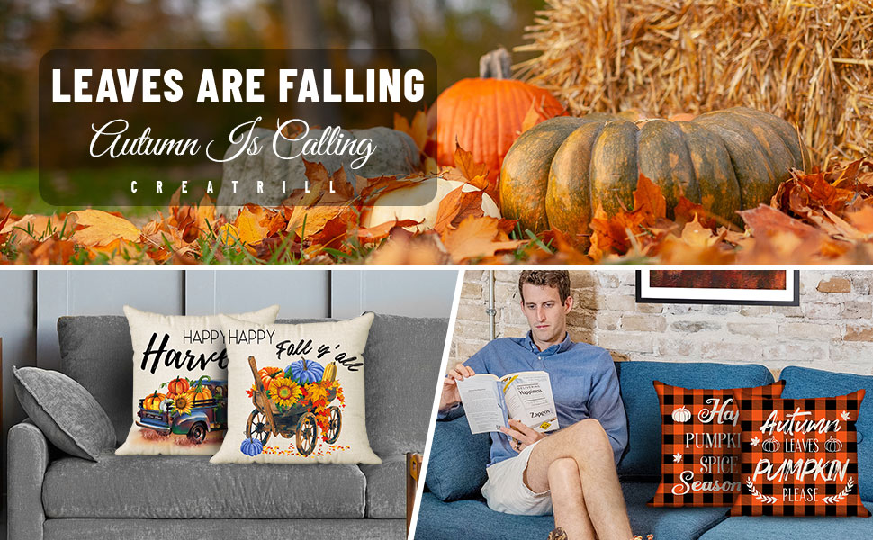 thanksgiving pillow covers 18x18