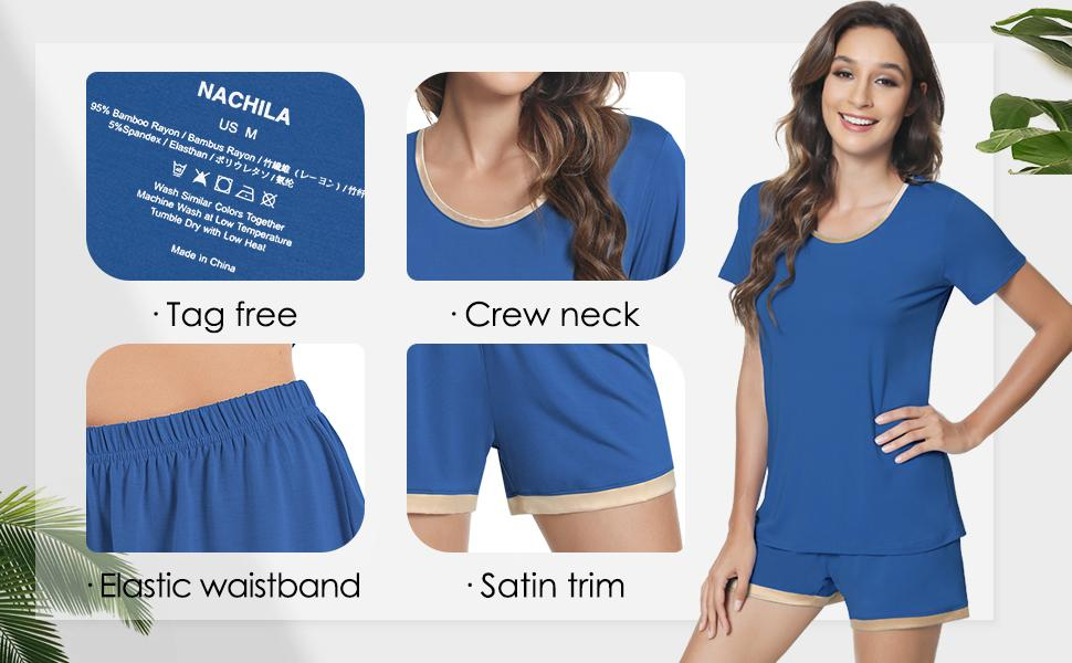 Cute comfy lounge wear for women made of breathable fabric