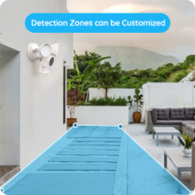 Detection Zones can be Customized