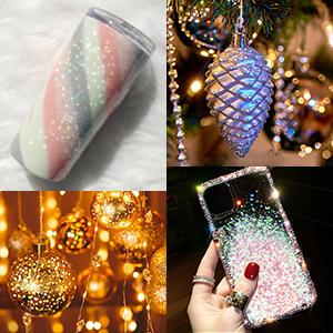 DIY Ornament Project Glitter