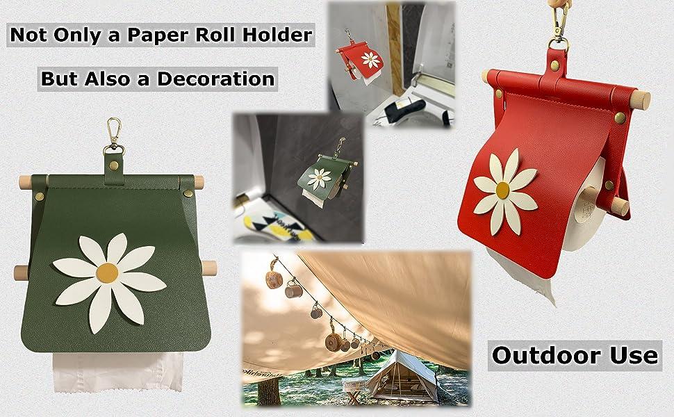 Toilet Paper Holder Toilet Paper Roll Holder for Bathroom Camping Camper Paper Roll Holder