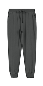 womens cotton jogger lounge pants
