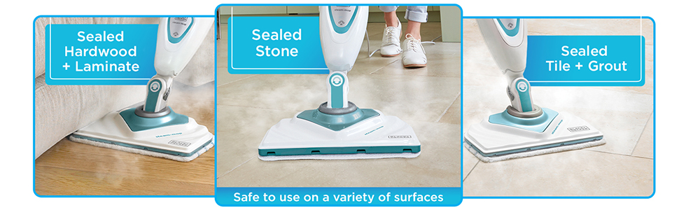Hard surfaces germ free