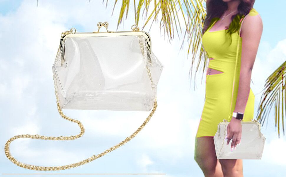 Abuyall small chain strap shoulder bag purse