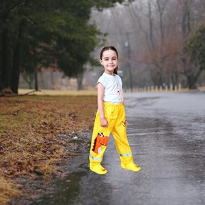 pantalon impermeable niña 4 años