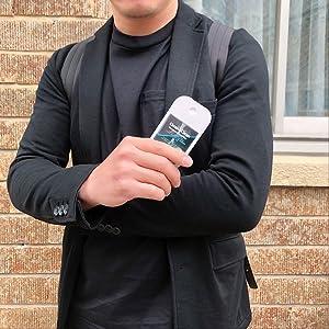 除菌ミスト アクア 除菌 アルコールタイプ Clean&Clean フレグランス除菌ミスト 携帯用 ポケットサイズ