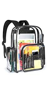 Clear Backpack Purse
