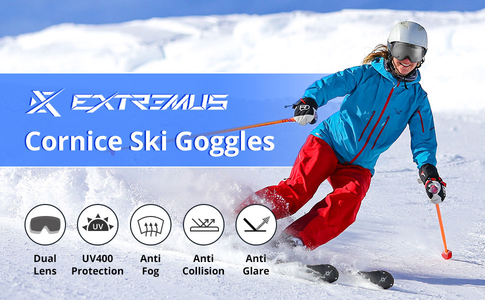 Extremus Cornice Ski Goggles