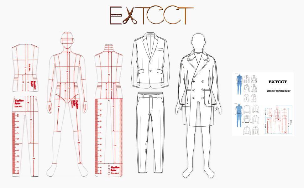 fashion drawing ruler