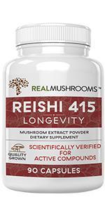 real mushrooms reishi mushroom extract