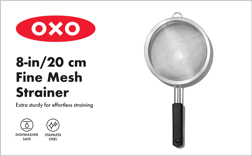 OXO Good Grips 8 in./ 20.3 cm Strainer