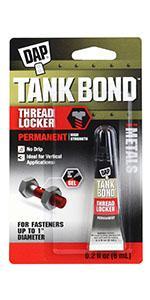 Tank Bond Permanent Threadlocker