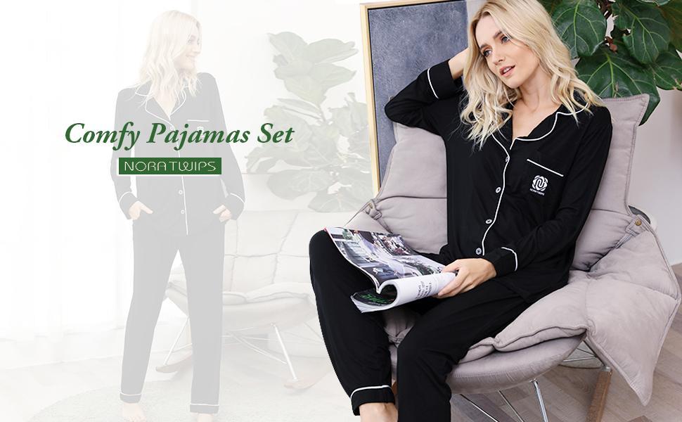 pajamas Long Sleeve PJ Sets