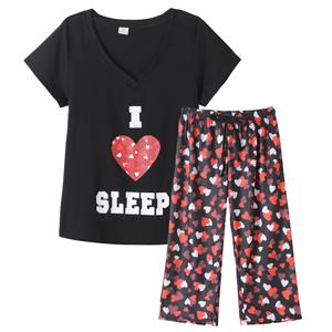 letter print nightwear