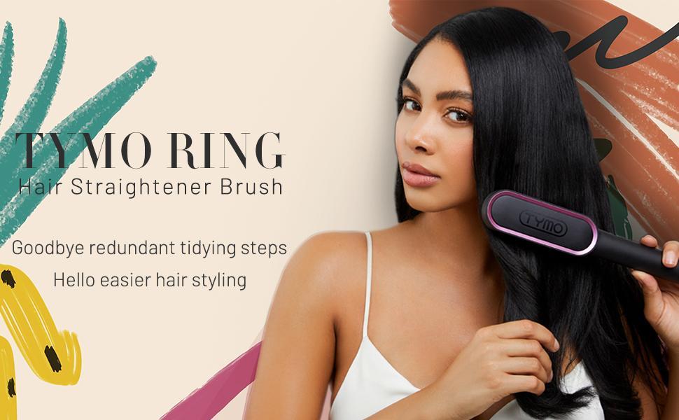TYMO RING Hair Straightener Brush