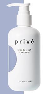prive blond rush shampoo