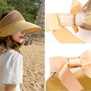 Sombrero de Paja Plegable para Mujer