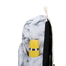 girls backpack with side pockets for water bottle