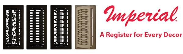 Floor Registers by Imperial