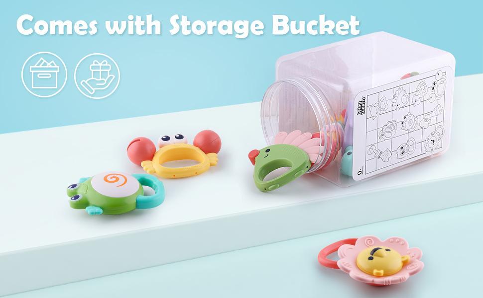 Rattle Storage Bucket
