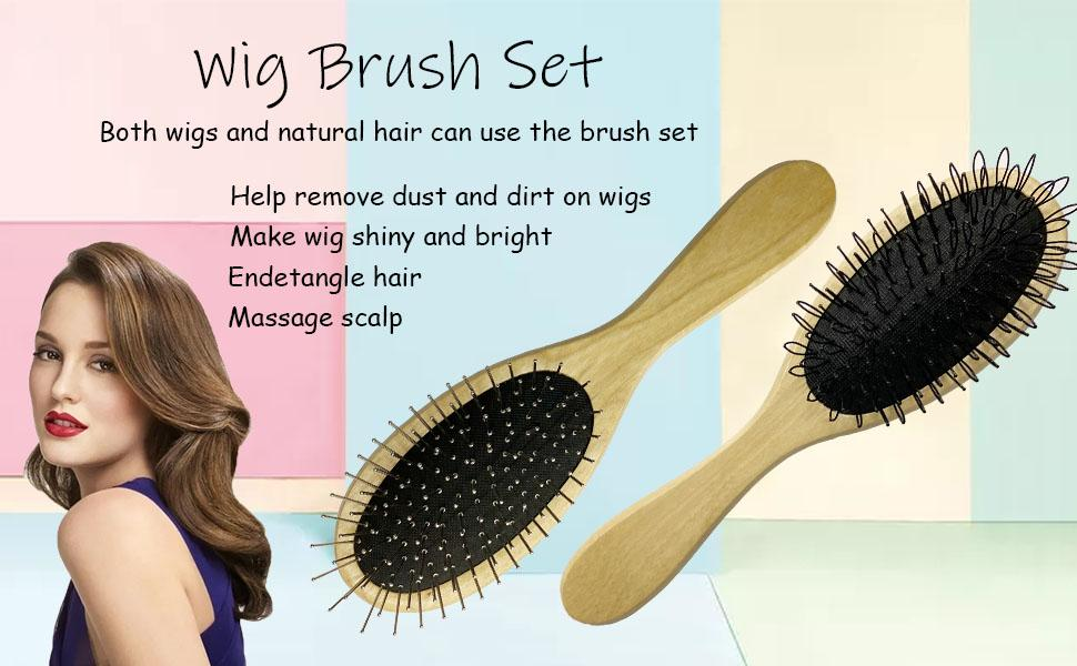 wig brush for sythenic wigs