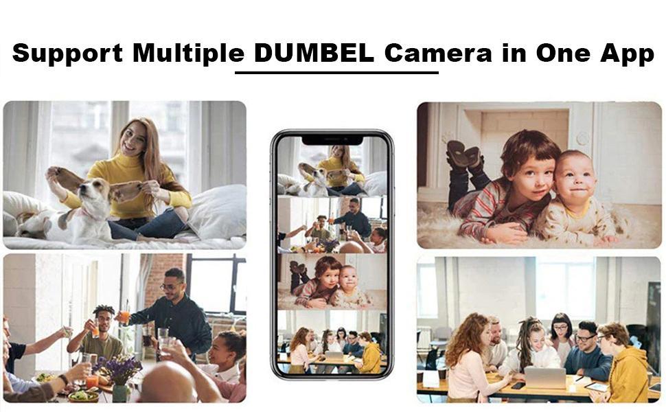 DUMBEL Camera cctv camera audio video recording cctv camera audio mic 12v 5amp all set assoceries