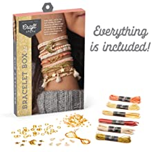 bracelets jewelry diy kit craft kit for girls crafts for teens tweens adults make your own jewelry