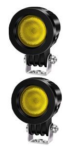motorcycle fog light yellow