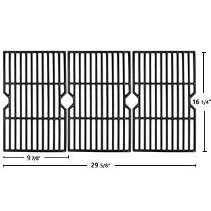 16 1/4 dyna glo grill grates