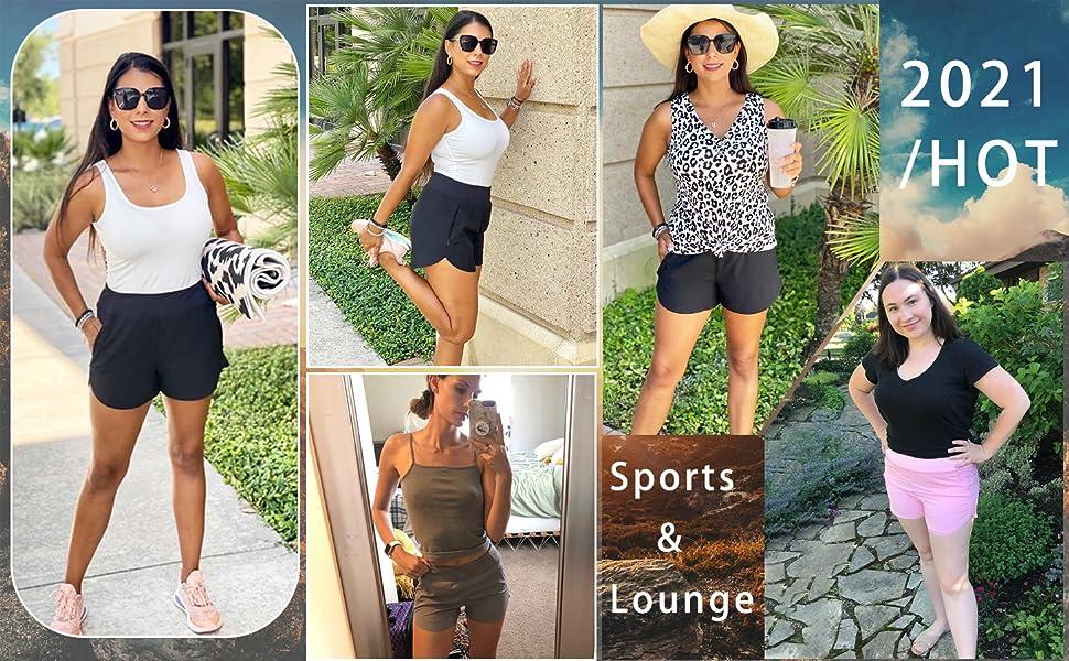 summer shorts for women