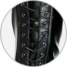 Adjustable lace-ups