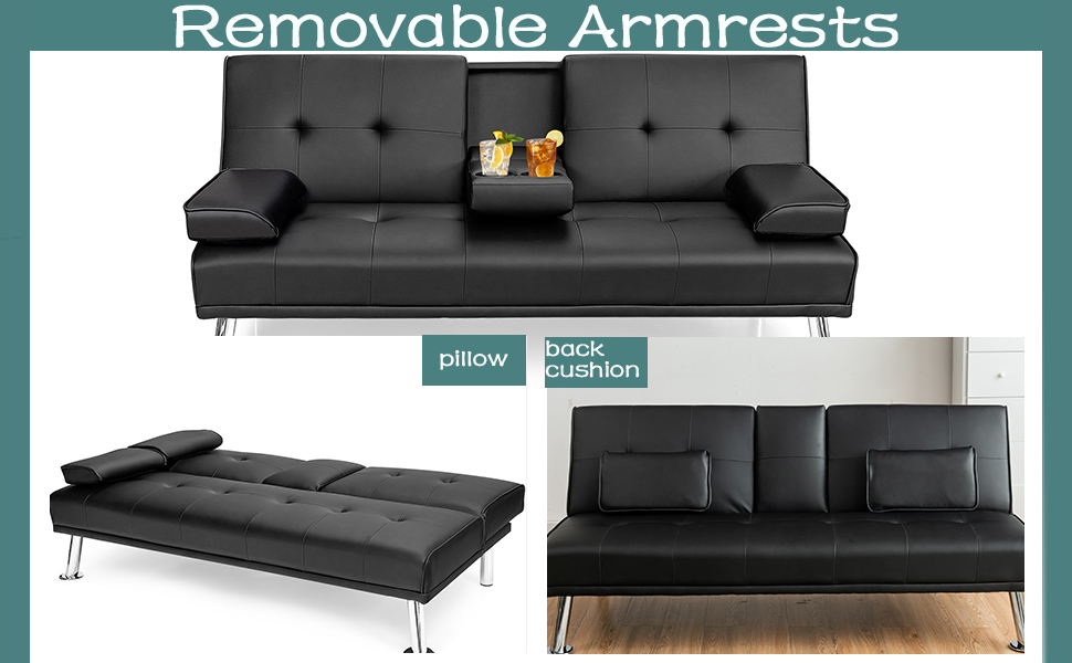 daybed with mattress included leather couch futon sofa bed with mattress and frame