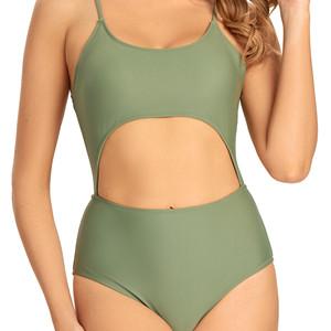 women cutout bikini