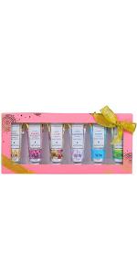 shea butter hand cream gift set for women