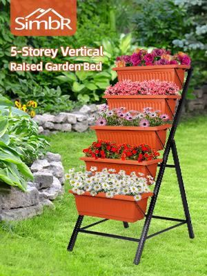 SIMBR RAISED GARDEN BED