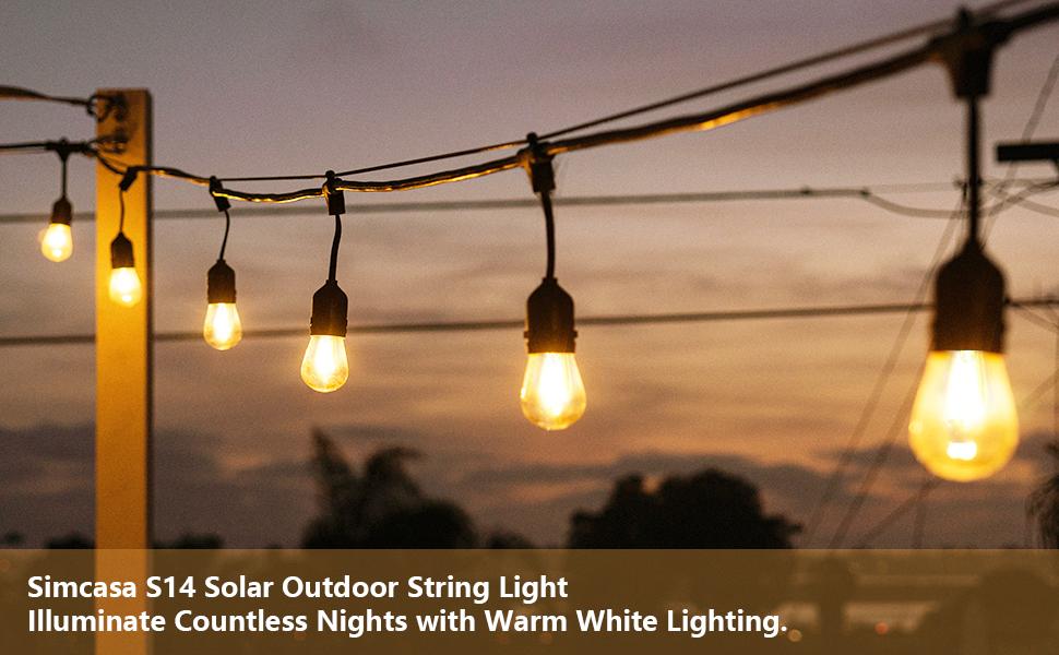S14 solar string light