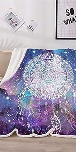 galaxy dreamcatcher blanket