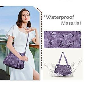 Purple Women Handbag Purse