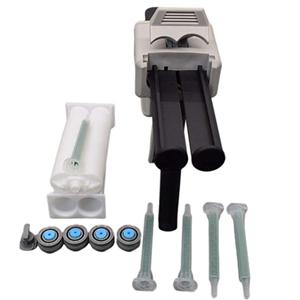 Manual Applicator 1:1Dispensing Gun 50ml Caulk Adhesive Gun