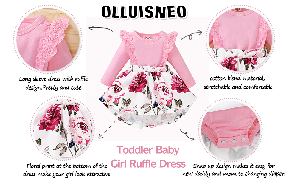 baby girl floral dress 3-6 month