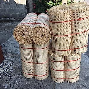 Cane webbing roll