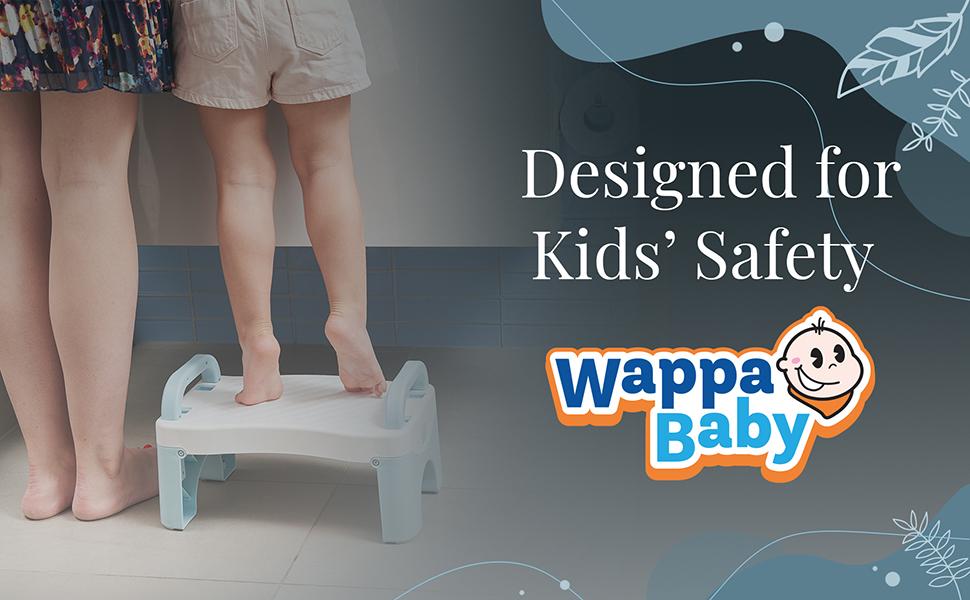 Wappa Baby Foldabe step stool toddler step