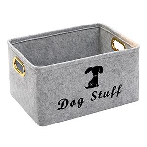 dog food storage container dog stuff organizer