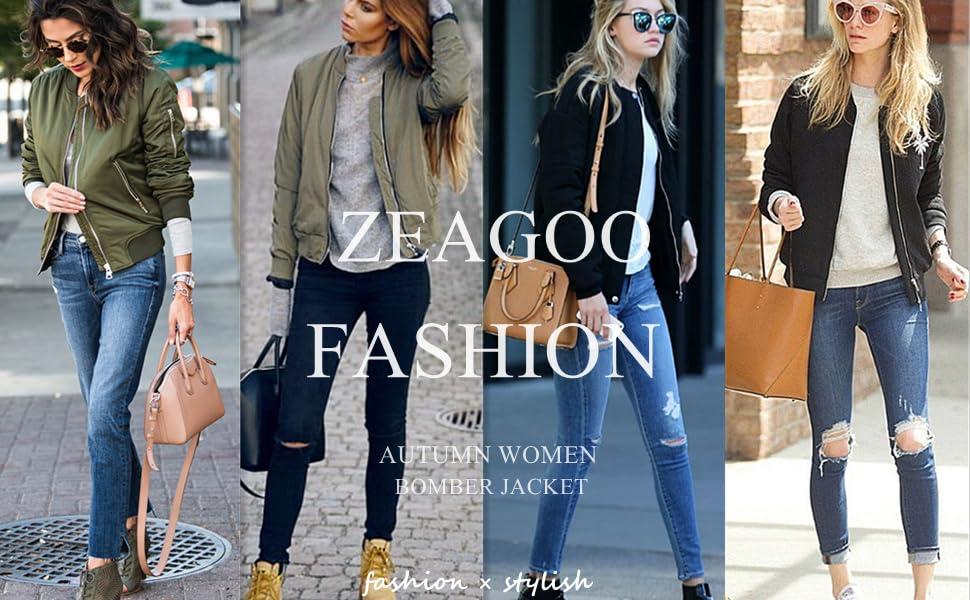 Zeagoo fashion jacket