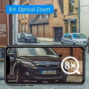 8X Optical Zoom