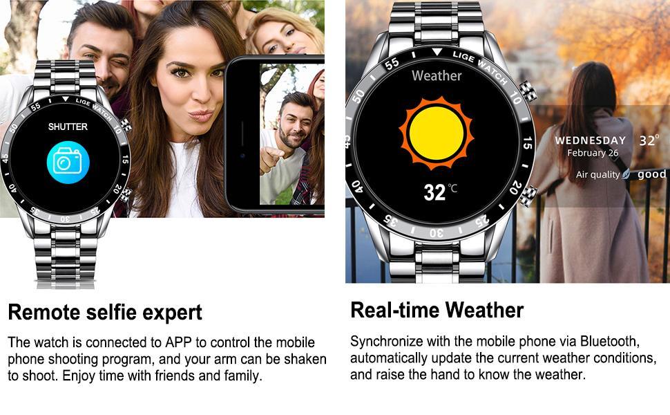 smart watch men fashion