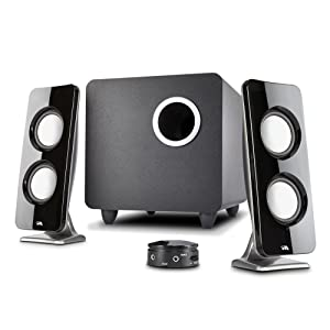 CA-3610 Cyber Acoustics 2.1 Powered Speaker System