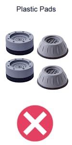 Comparison - Plastic Pads
